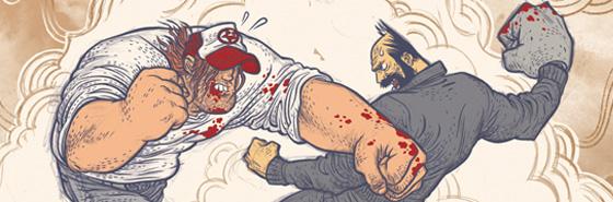 Mesmo Delivery, a primeira graphic novel de Grampá lhe rendeu um contrato com a editora americana Dark Horse Comics