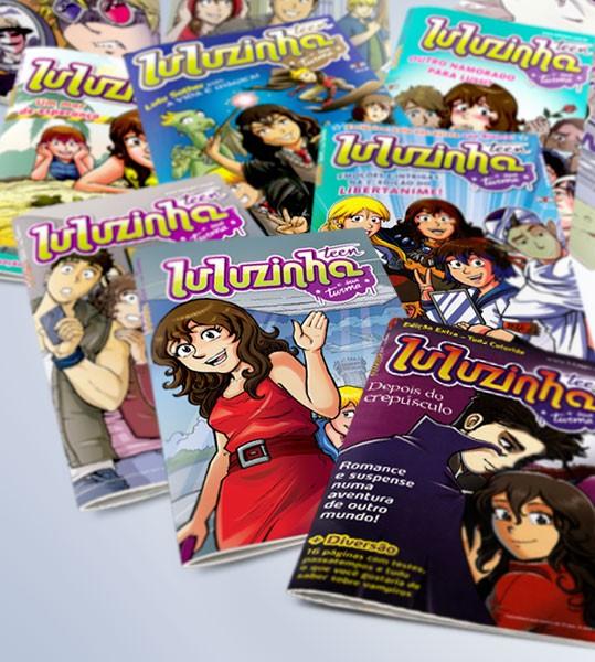 """A Ediouro, uma das maiores editoras da América Latina, lançou, em junho de 2009, a revista em quadrinhos """"Luluzinha Teen e sua Turma"""", uma versão modernizada dos clássicos personagens da…"""