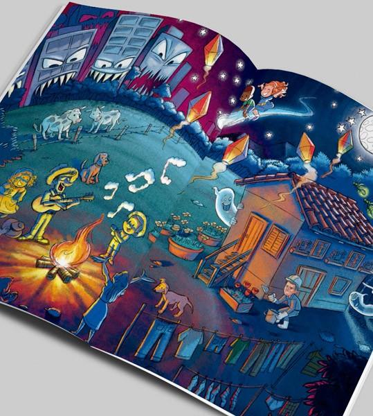 """Primeiro de uma série de 3 livros voltados para o Ensino Fundamental e Médio, """"CONSTRUÇÃO"""" é totalmente elaborado sobre a obra do compositor Chico Buarque de Hollanda.  Coube ao labareda.com.br o…"""