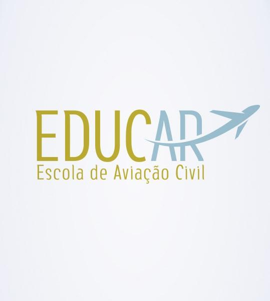 Criação da marca e identidade visual da EducAr – Escola de aviação civil, cuja missãoéinstruir, formar e capacitar comissários de voo.  …