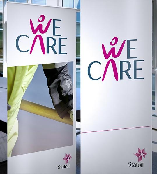 """""""WE CARE"""" é um programa da Statoil queestabelece normas para funcionários e colaboradores com os objetivos de criar um ambiente de trabalho mais seguro, reforçar a responsabilidade individual e consolidar…"""